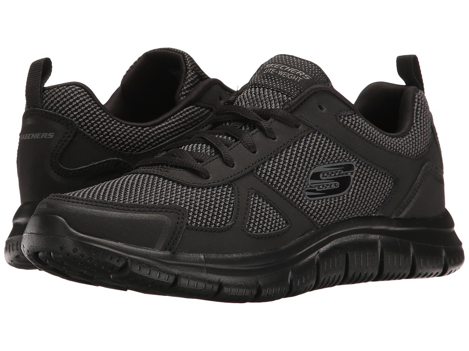 SKECHERS - Track (Black) Men's Shoes