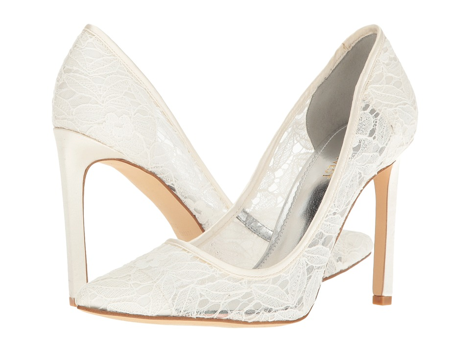 Nine West - Tatiana (Ivory Fabric) High Heels