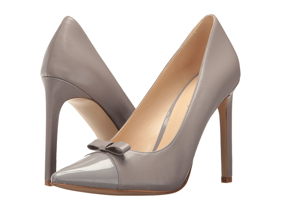 Nine West - Thaliah (Grey Leather) High Heels