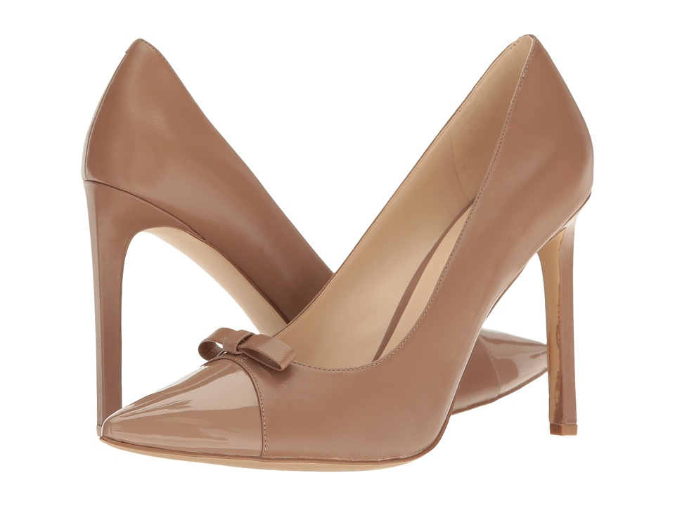 Nine West - Thaliah (Natural Leather) High Heels