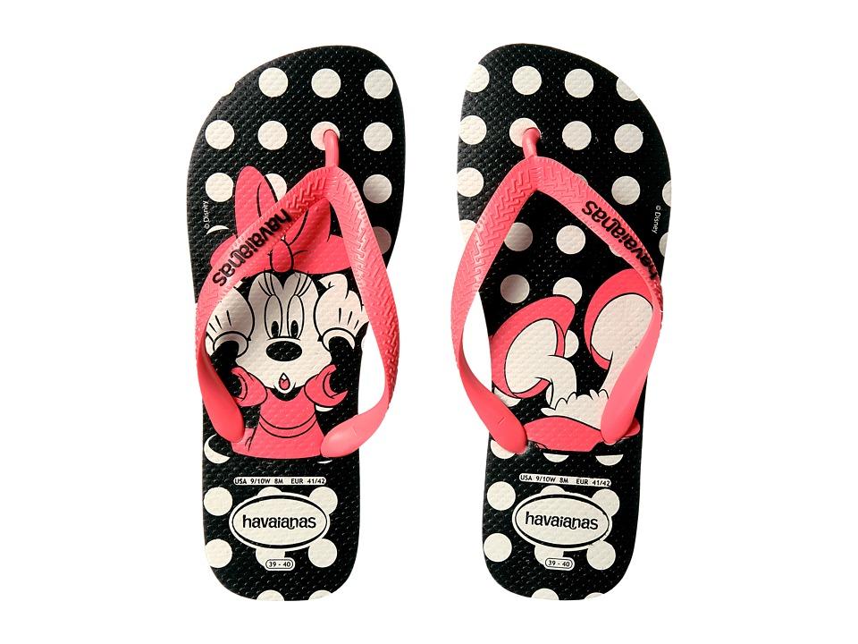 Havaianas - Disney Stylish Flip Flops (White/Coral) Women's Sandals