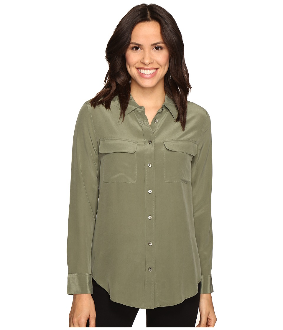 EQUIPMENT - Slim Signature Blouse (Army Jacket) Women's Blouse