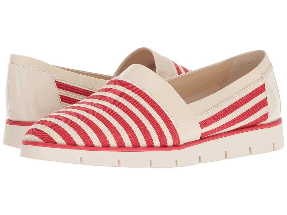 Nine West - Uala (Red/White Multi Fabric) Women's Shoes