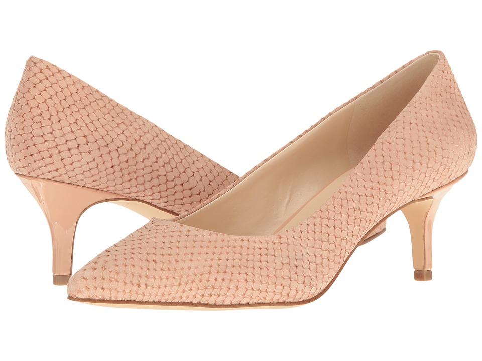 Nine West - Xeena (Light Pink Nubuck) Women's 1-2 inch heel Shoes
