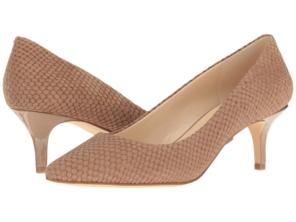 Nine West - Xeena (Natural Nubuck) Women's 1-2 inch heel Shoes