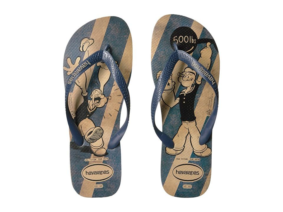 Havaianas - Popeye Flip-Flops (Beige) Men's Sandals
