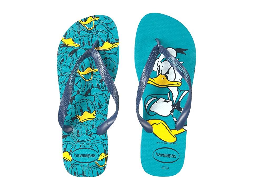 Havaianas - Disney Stylish (Blue) Men's Slippers