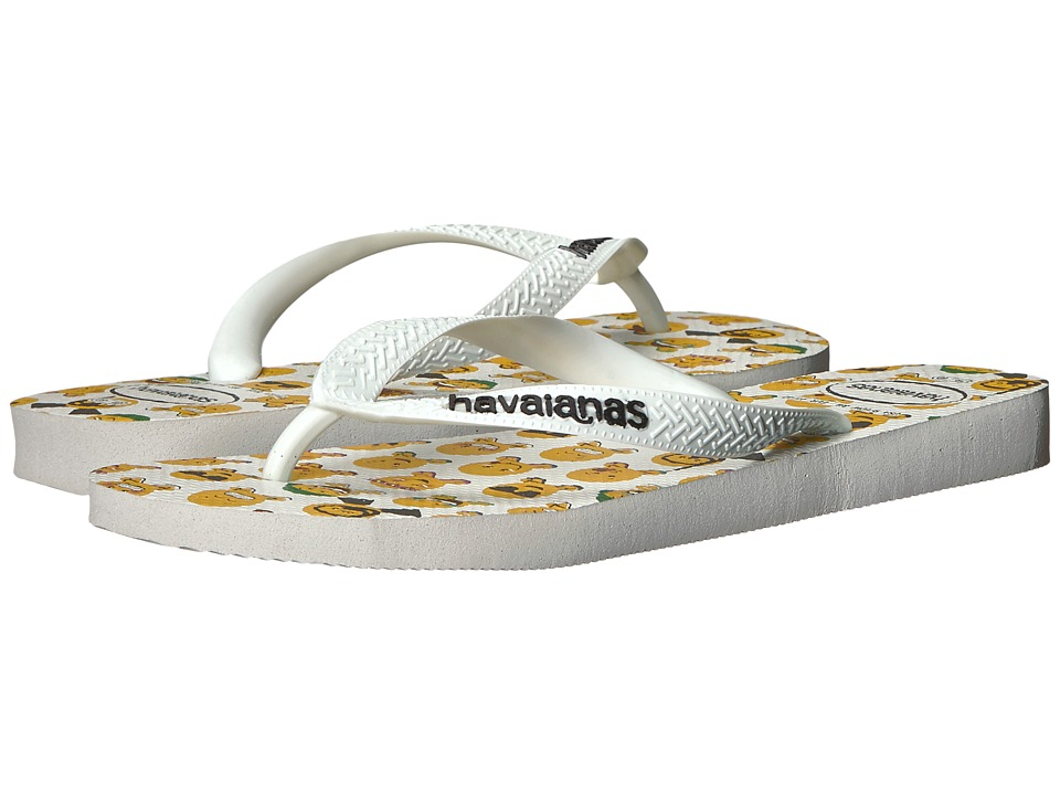 Havaianas - Mood Flip-Flops (White/White) Men's Sandals