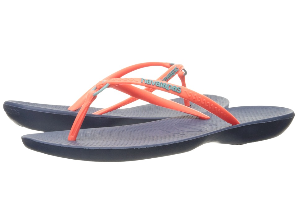 Havaianas - Ring Flip Flops (Indigo Blue) Women's Sandals