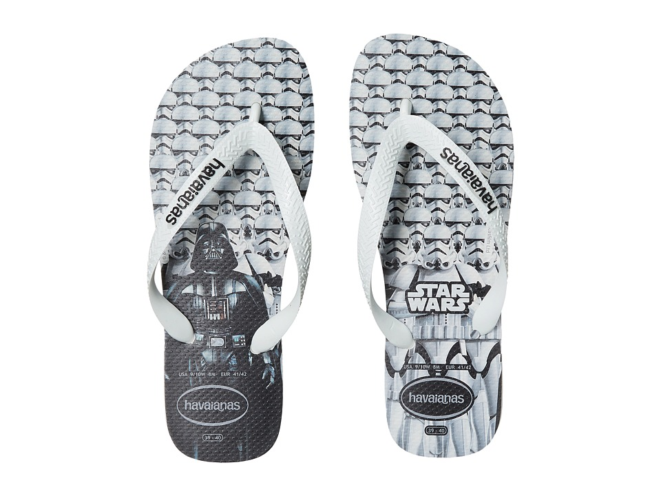 Havaianas - Star Wars Flip-Flops (White/White) Men's Sandals