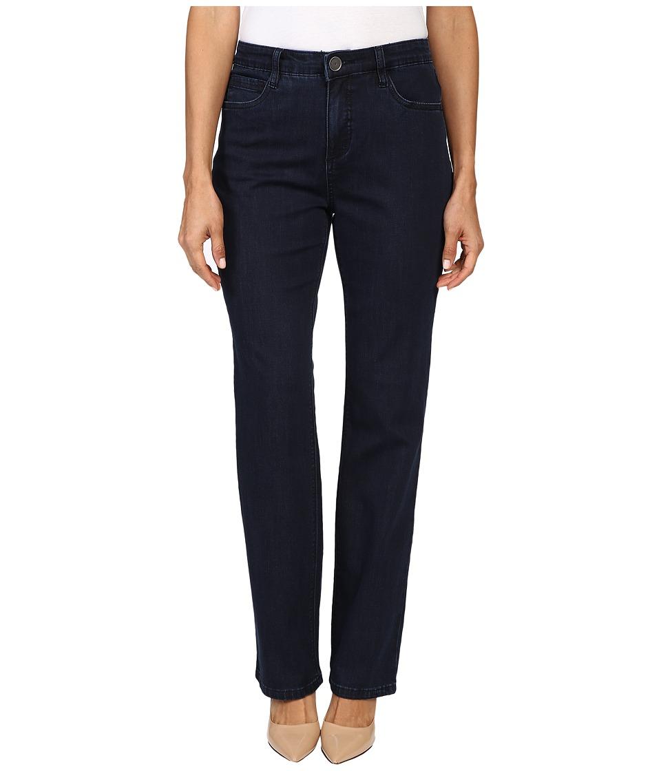 FDJ French Dressing Jeans - Petite Supreme Denim Peggy Straight Leg in Pleasant (Pleasant) Women's Jeans