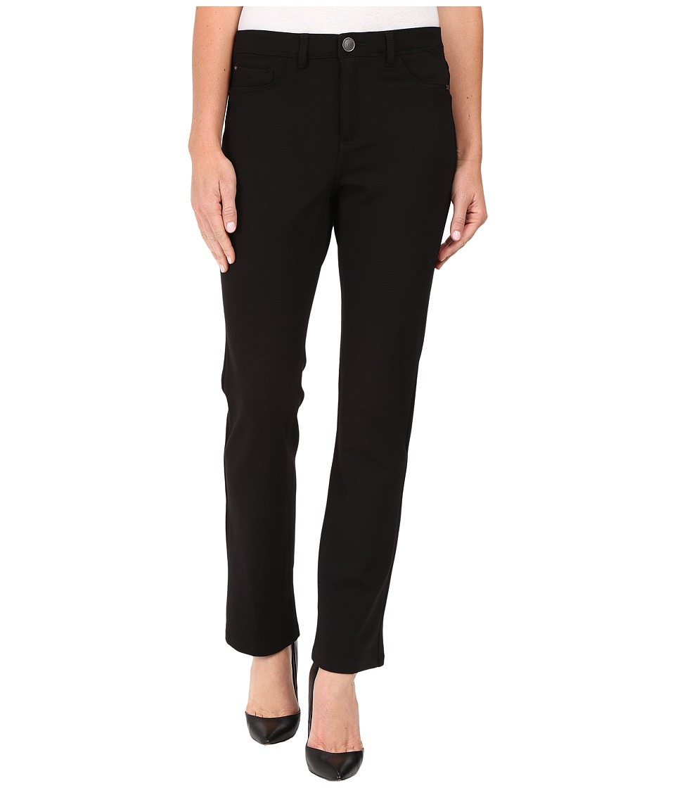 FDJ French Dressing Jeans - Petite PDR Wonderwaist Suzanne Straight Leg in Black (Black) Women's Jeans