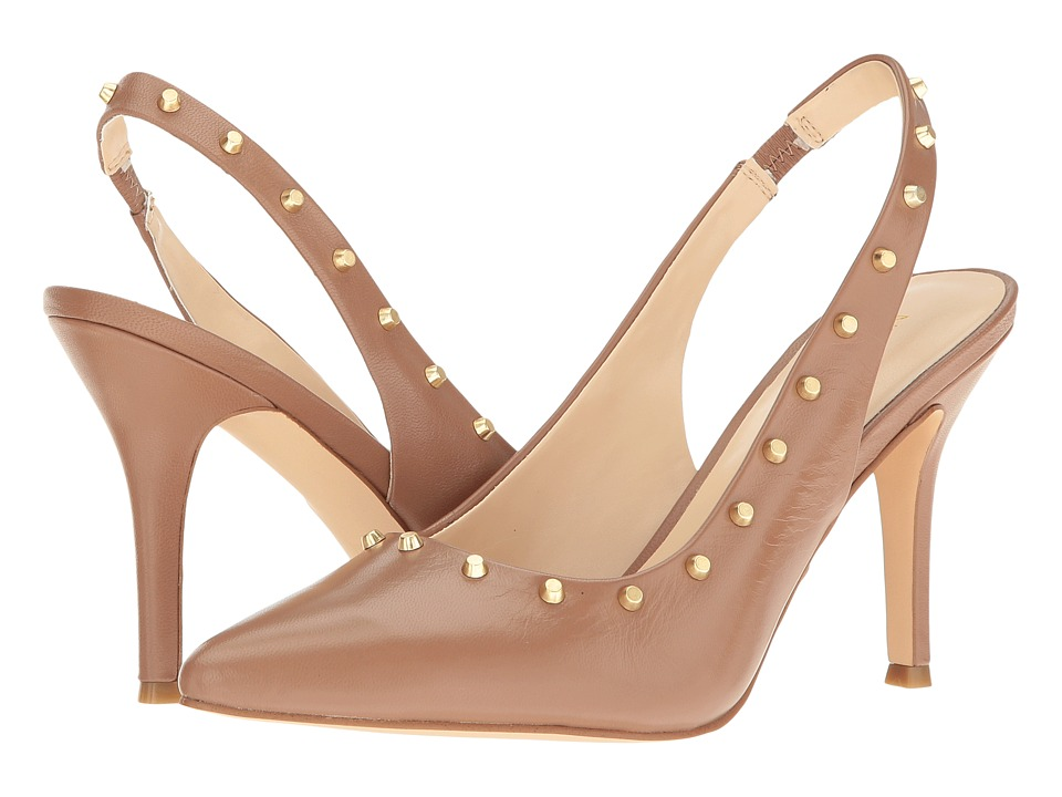 Nine West - Fauna (Natural Leather) High Heels