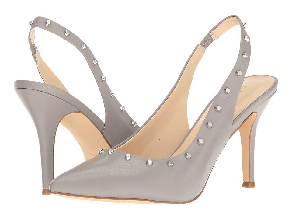 Nine West - Fauna (Grey Leather) High Heels