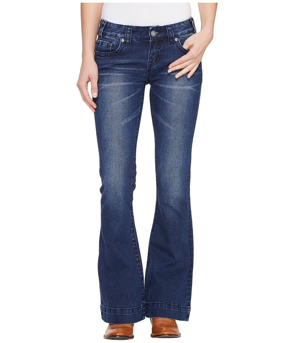 Rock and Roll Cowgirl - Trouser Bootcut in Dark Vintage W8-1400 (Dark Vintage) Women's Jeans