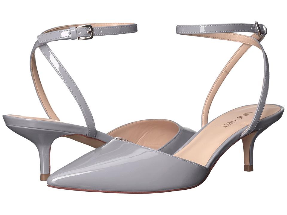 Nine West - Fonesca 3 (Grey Patent) High Heels