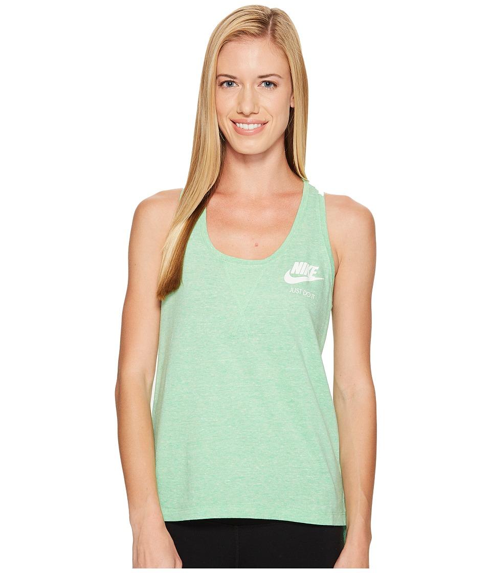 Nike - Sportswear Gym Vintage Tank (Tourmaline/Sail) Women's Sleeveless