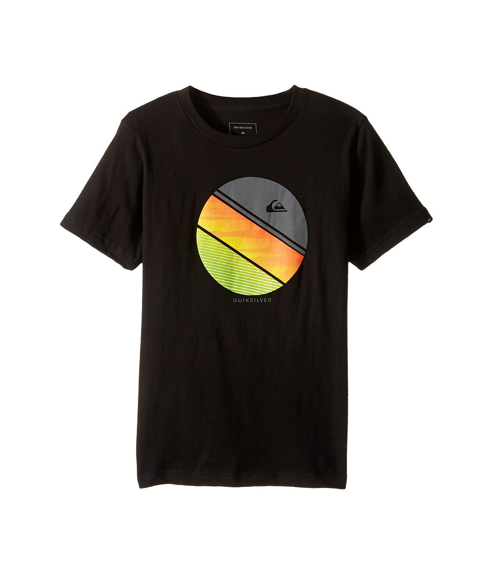 Quiksilver Kids - Remix Screen Tee (Big Kids) (Black) Boy's T Shirt
