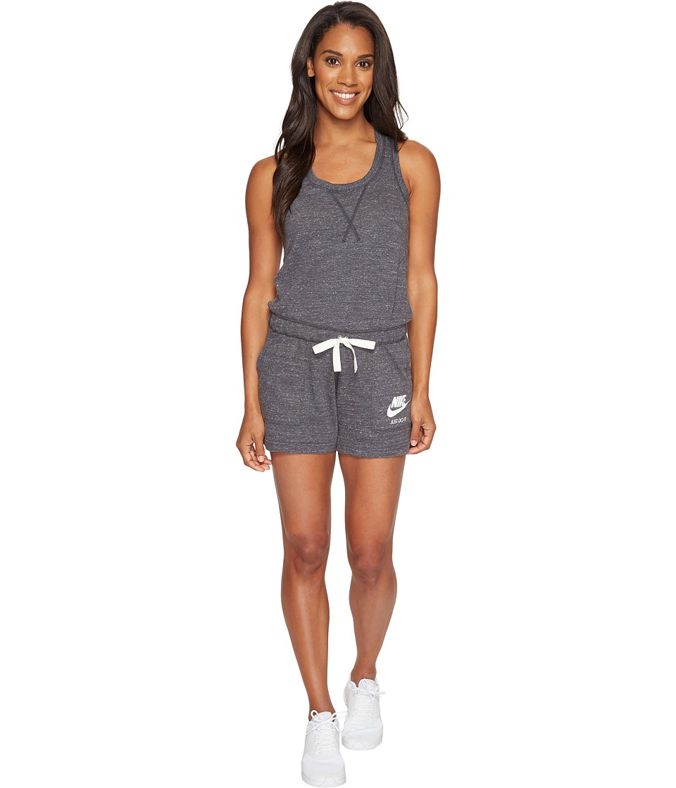 Nike - Sportswear Vintage Romper (Anthracite/Sail) Women's Jumpsuit & Rompers One Piece