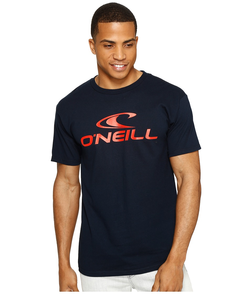 O'Neill - Offline Tee (Navy) Men's T Shirt