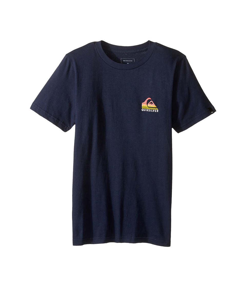 Quiksilver Kids - Milk Money Screen Tee (Big Kids) (Navy Blazer) Boy's T Shirt