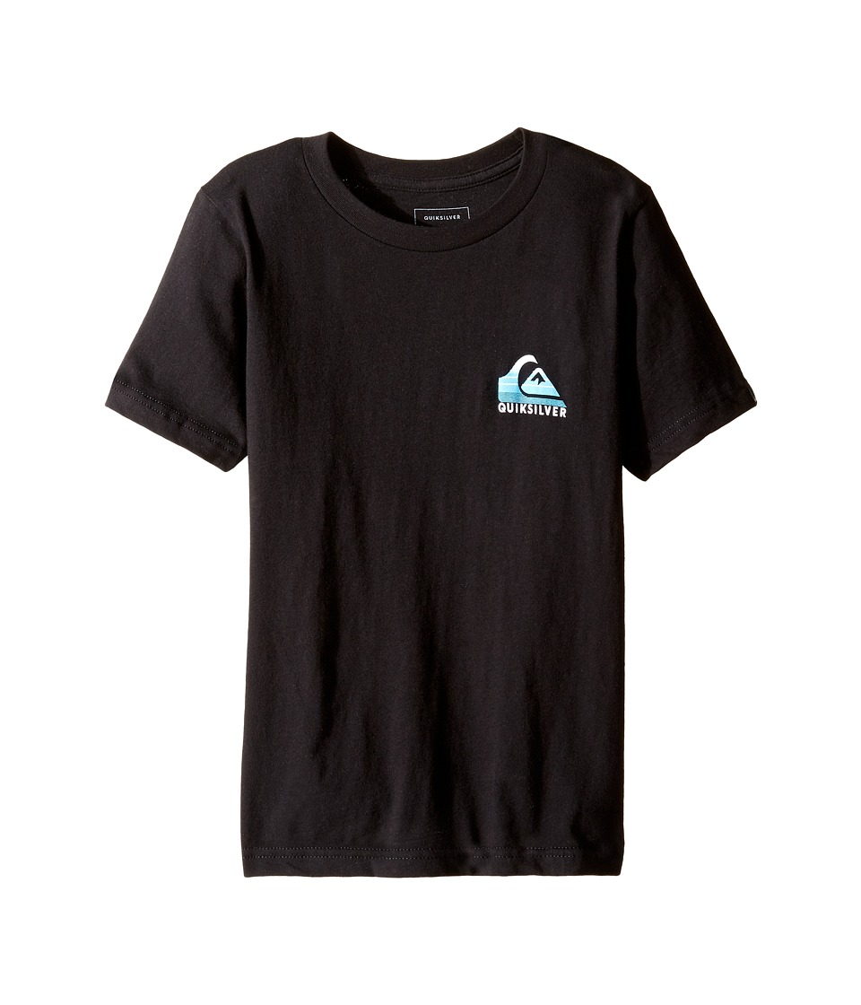 Quiksilver Kids - Milk Money Screen Tee (Big Kids) (Black) Boy's T Shirt