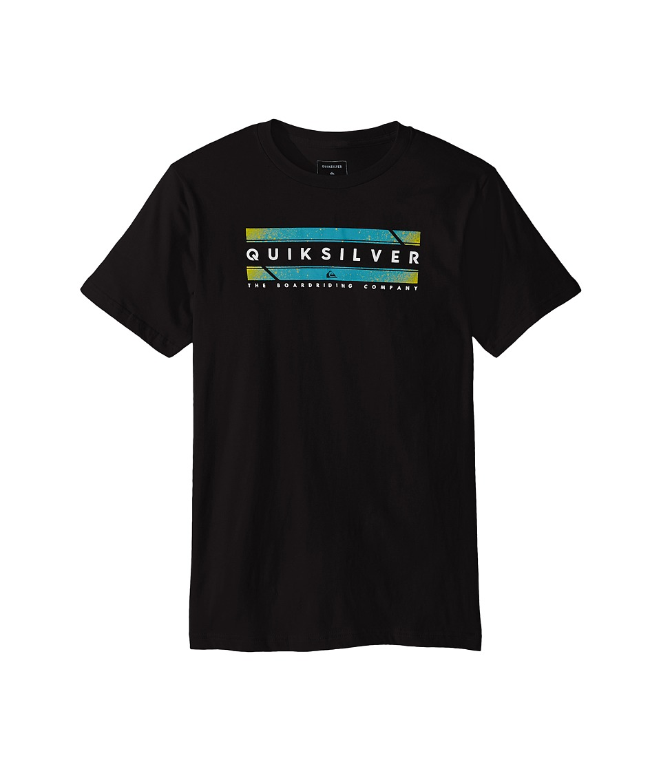 Quiksilver Kids - In Da Box Screen Tee (Big Kids) (Black) Boy's T Shirt