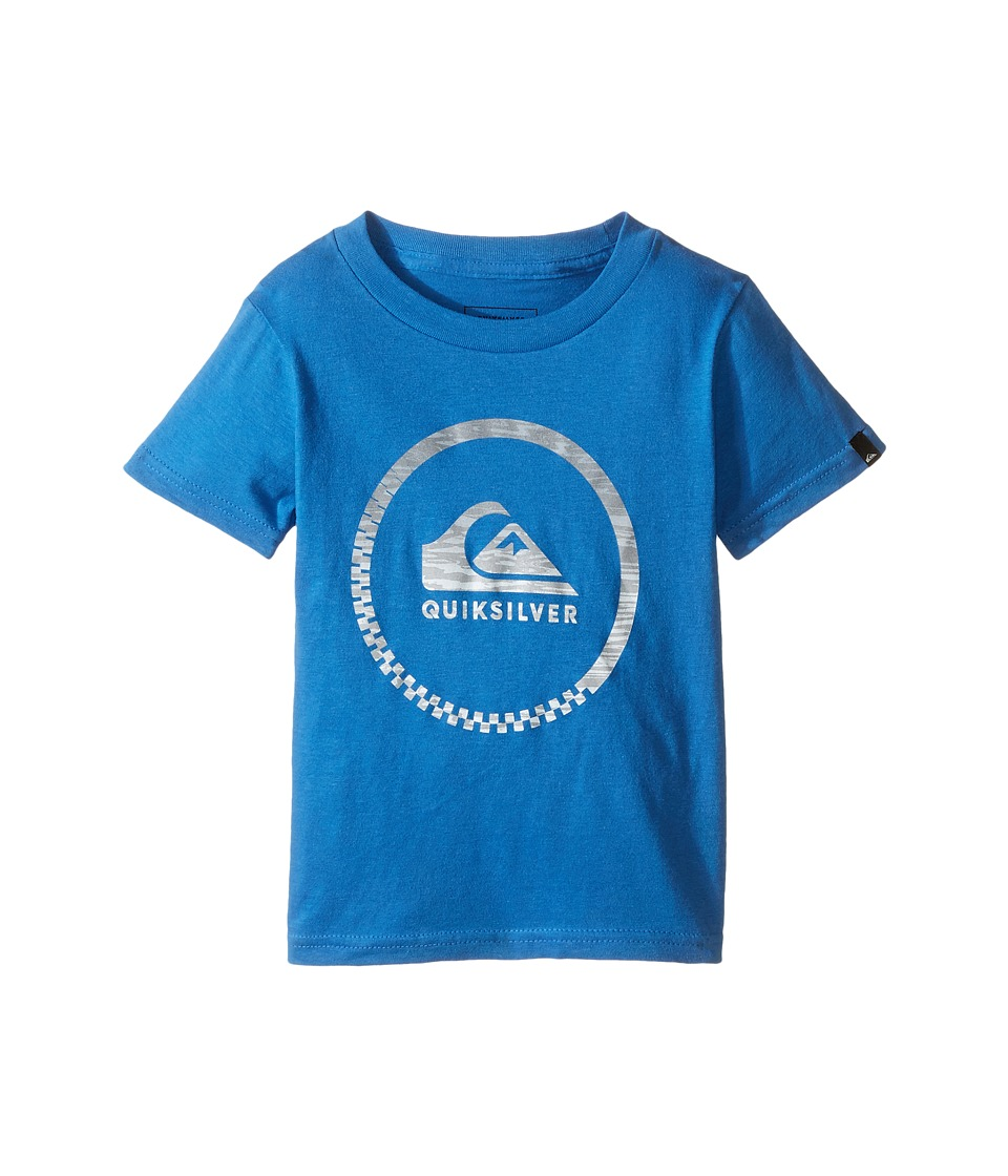 Quiksilver Kids - Slash Active Screen Tee (Toddler/Little Kids) (Star Sapphire) Boy's T Shirt
