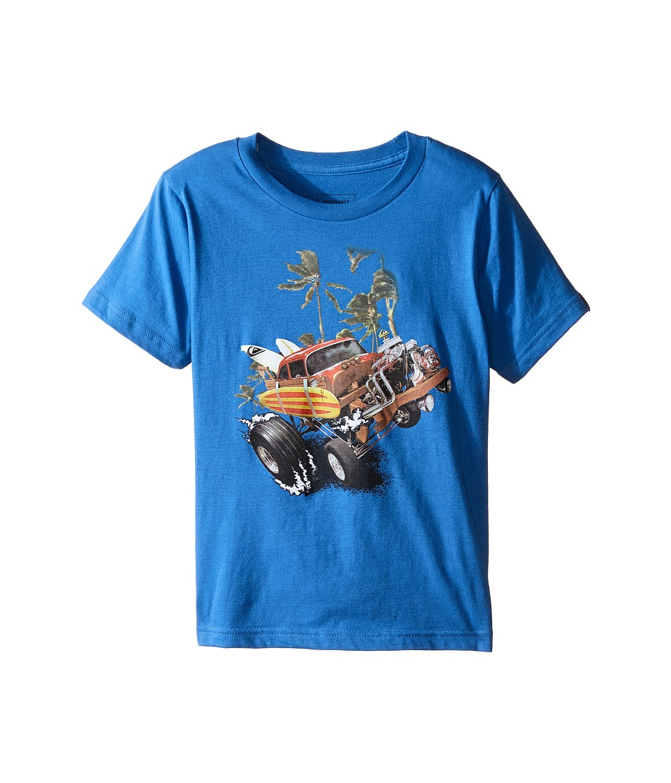 Quiksilver Kids - Surftrax Screen Tee (Toddler/Little Kids) (Star Sapphire) Boy's T Shirt