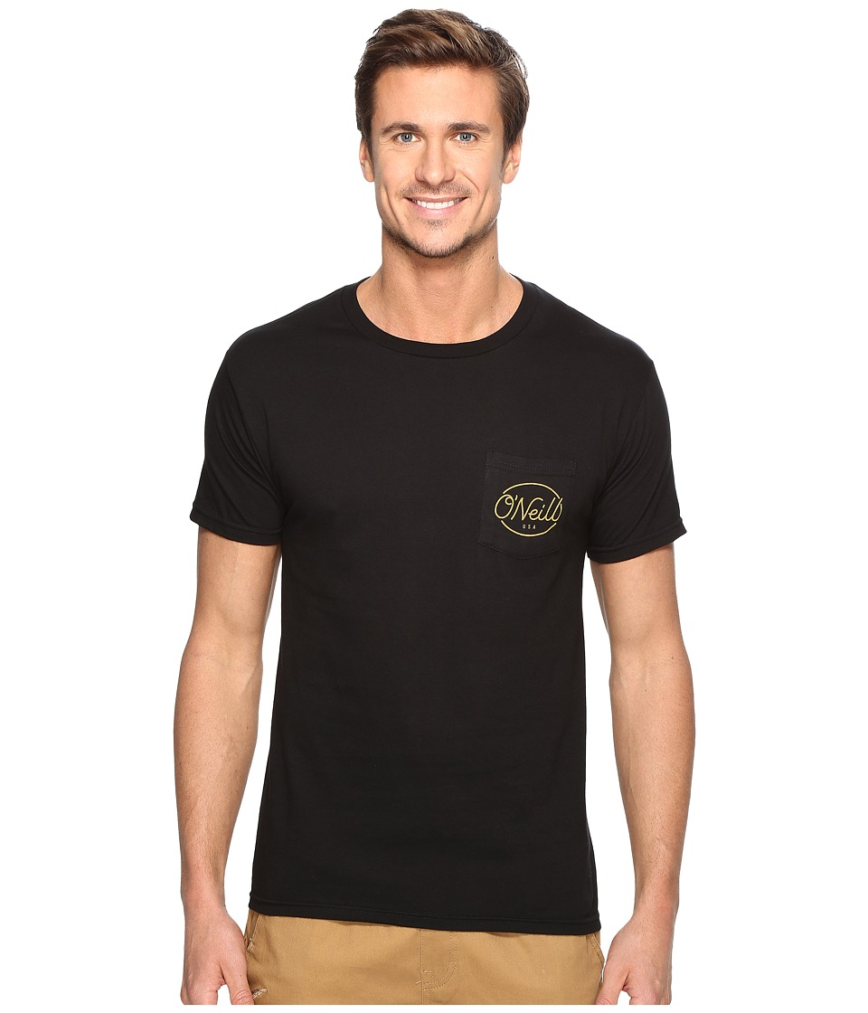 O'Neill - Pops Tee (Black) Men's T Shirt