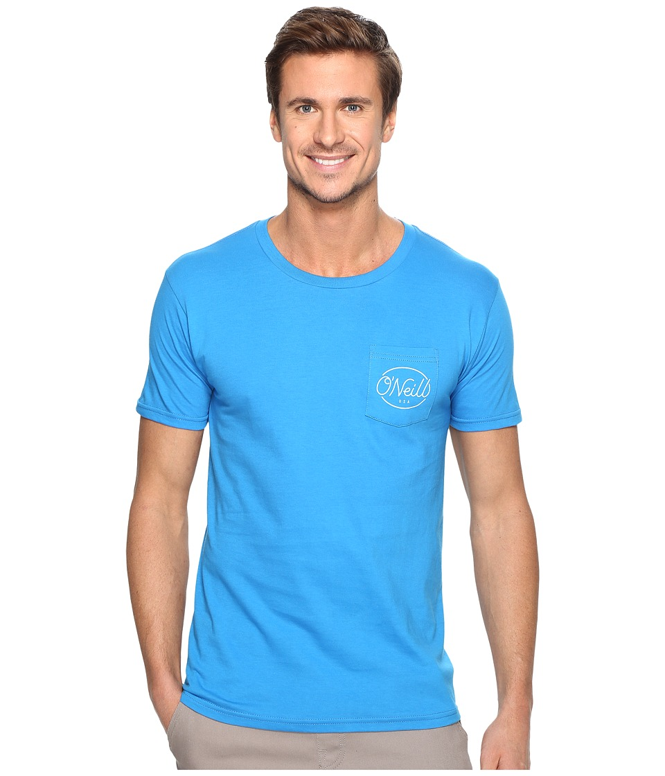 O'Neill - Pops Tee (Brilliant Blue) Men's T Shirt