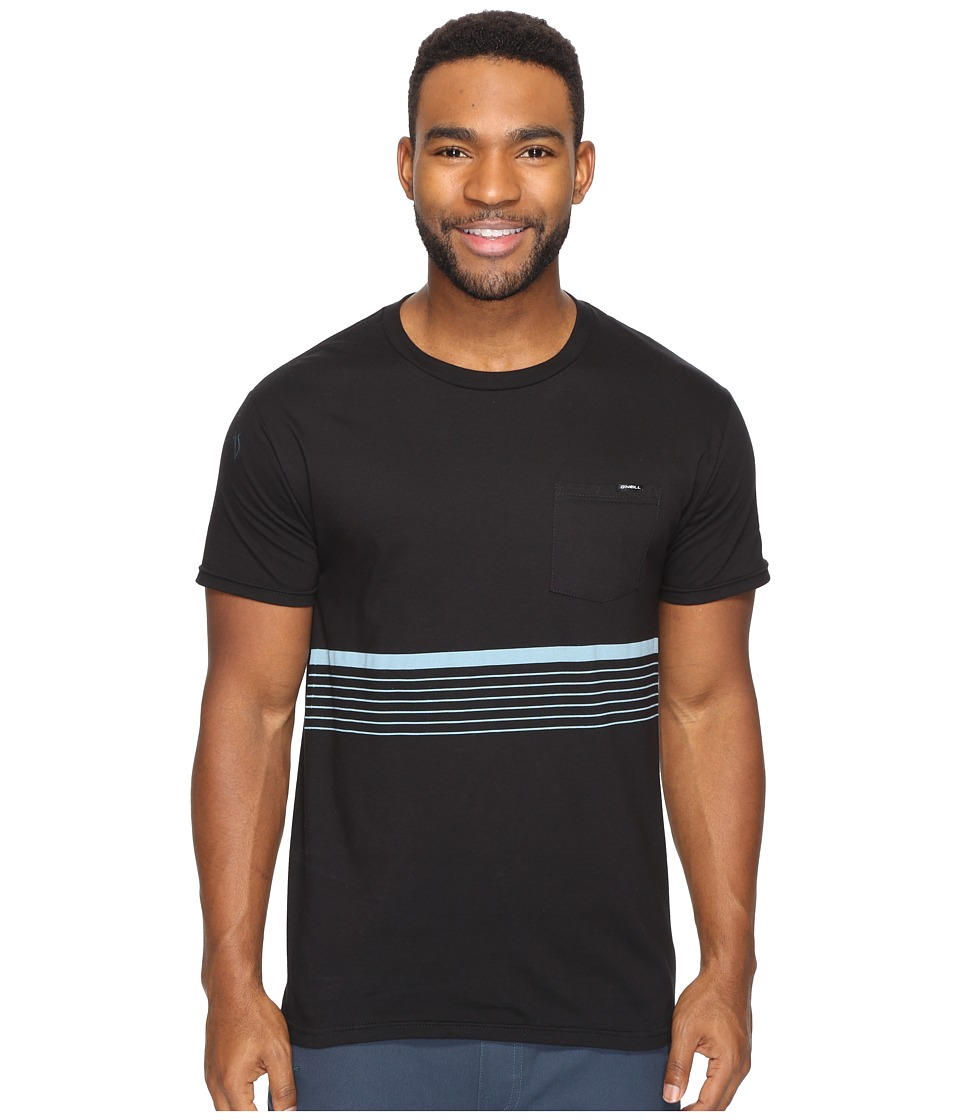 O'Neill - Aloha Tee (Black) Men's T Shirt