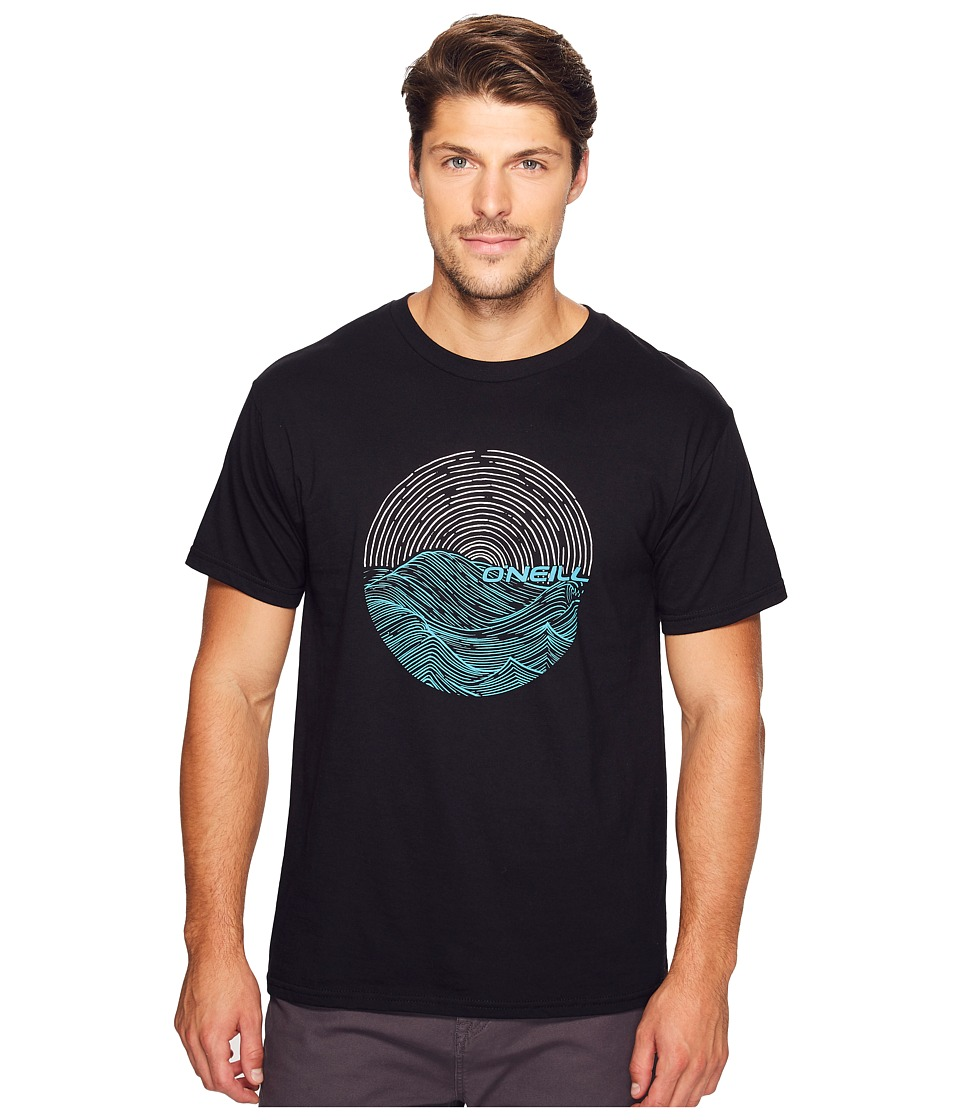 O'Neill - Currents Tee (Black) Men's T Shirt