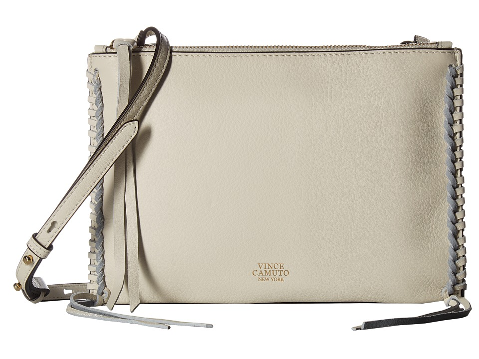 Vince Camuto - Litzy Crossbody (Snow White) Cross Body Handbags