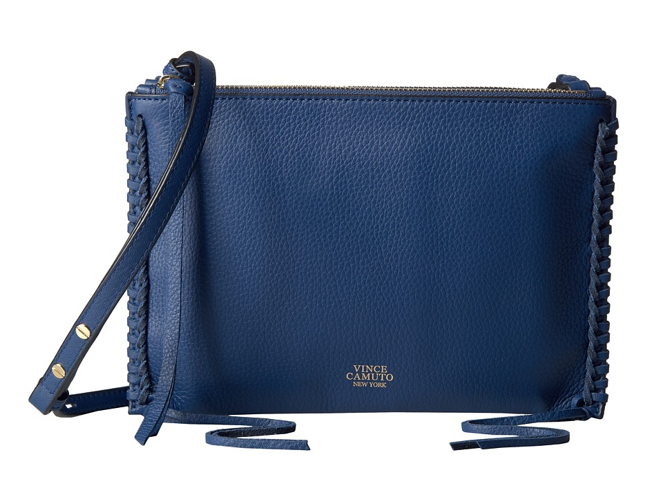 Vince Camuto - Litzy Crossbody (Estate Blue) Cross Body Handbags