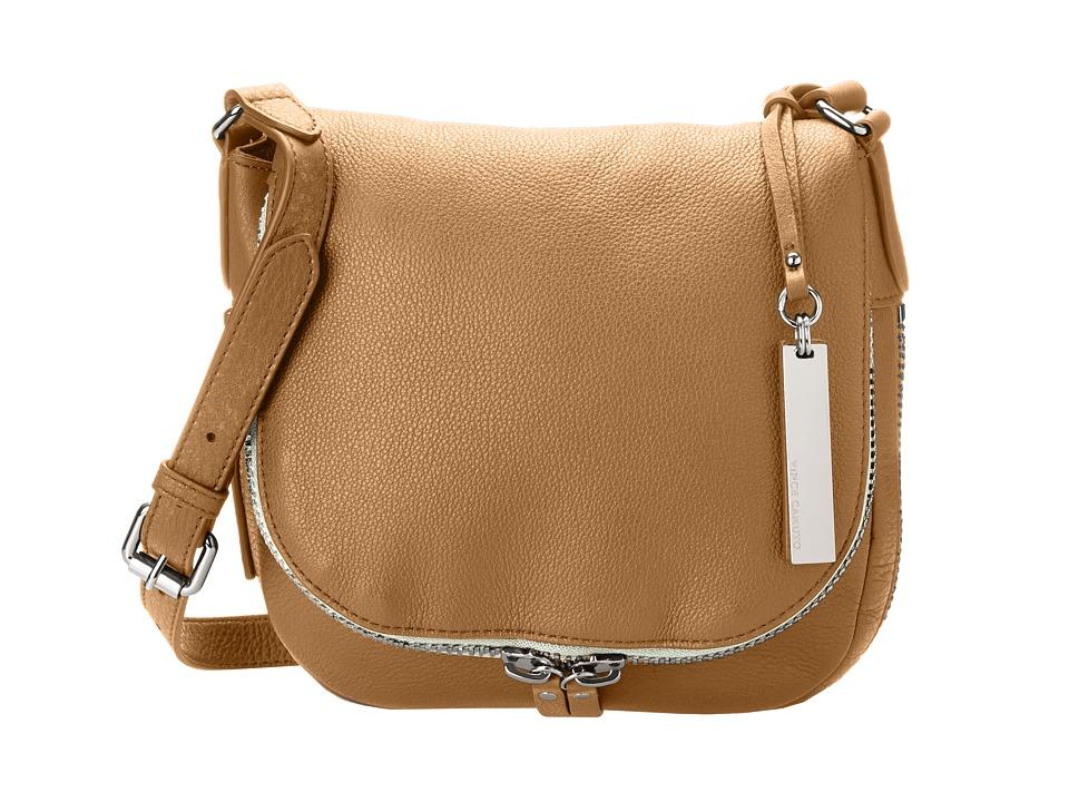 Vince Camuto - Baily Crossbody (Chestnut Brown/Black) Cross Body Handbags