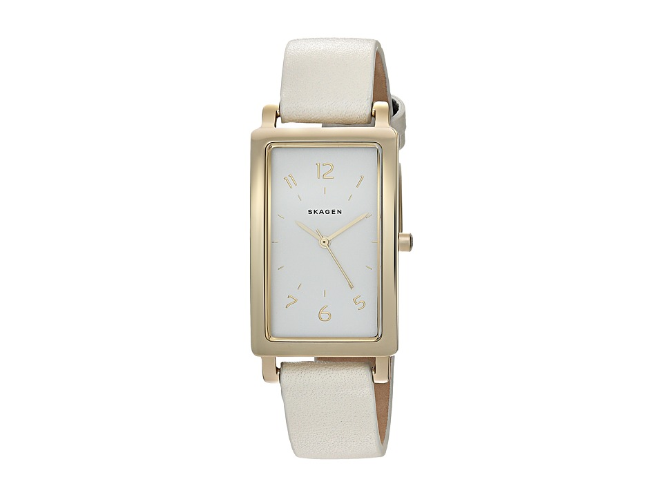 Skagen - Hagen Rectangular SKW2566 (White) Watches