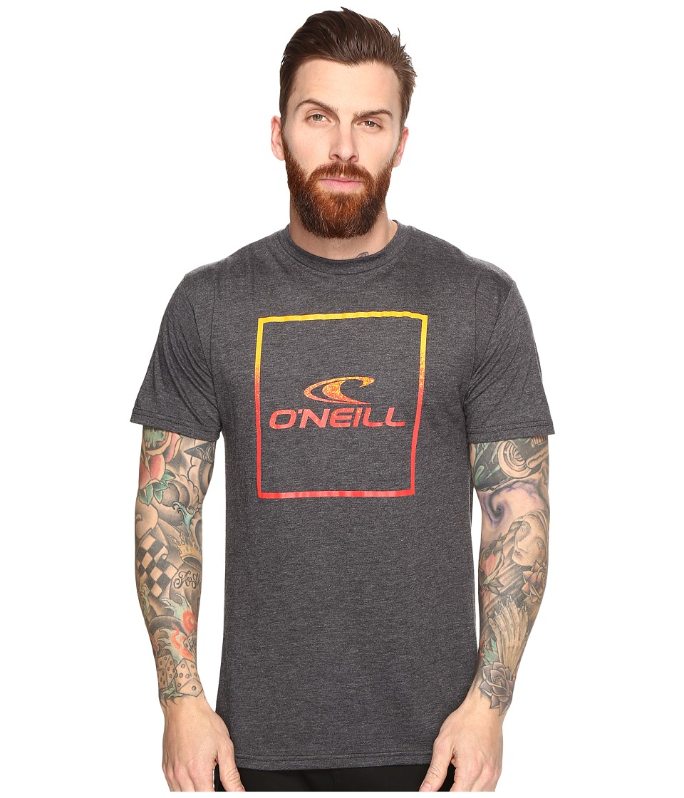O'Neill - Boxed Tee (Heather Black) Men's T Shirt