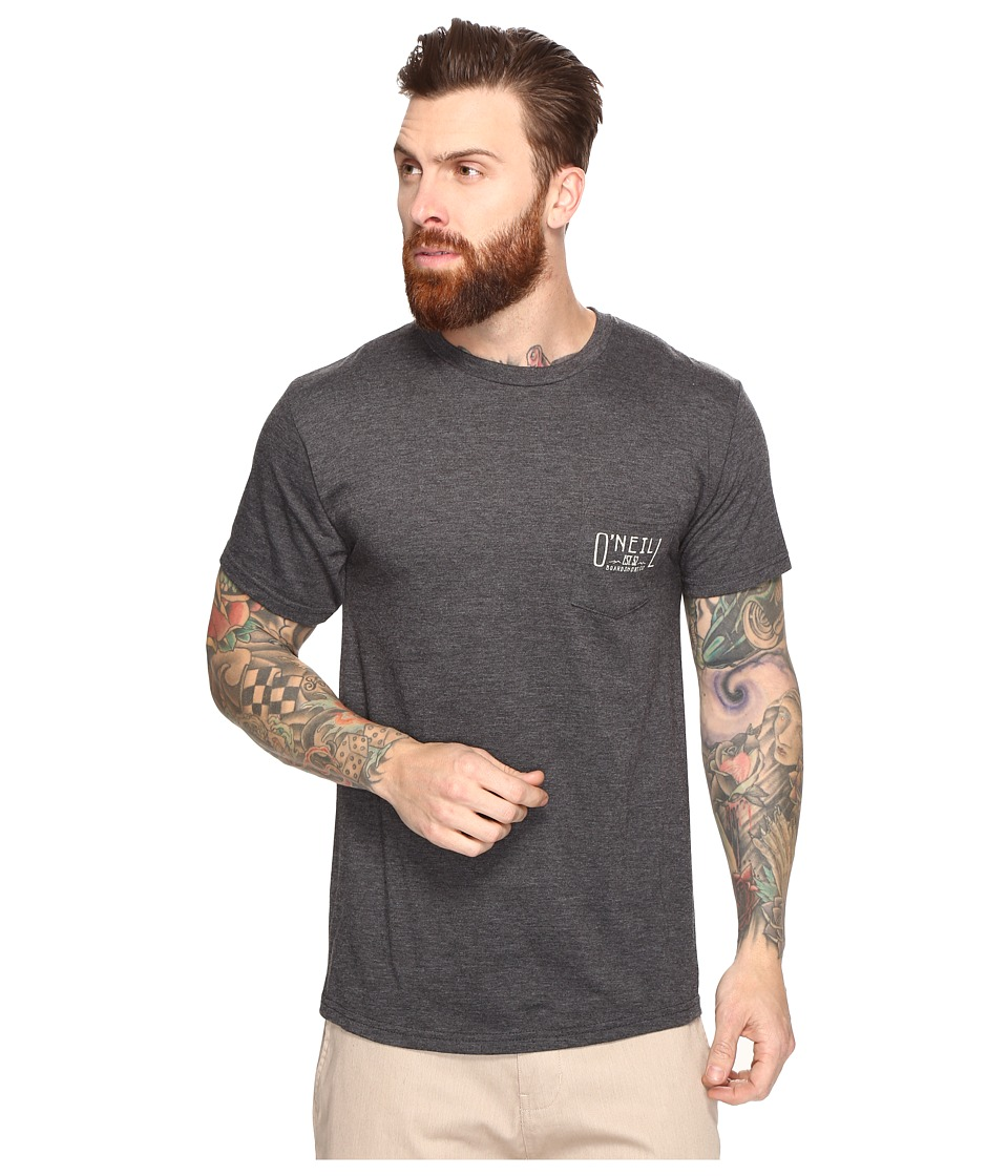 O'Neill - Worker Tee (Heather Black) Men's T Shirt