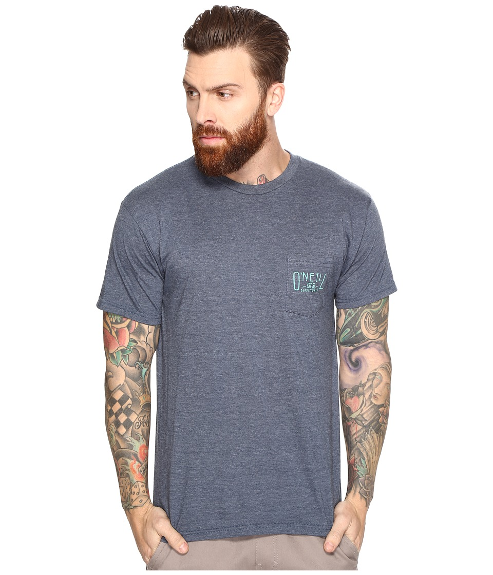 O'Neill - Worker Tee (Navy Heather) Men's T Shirt