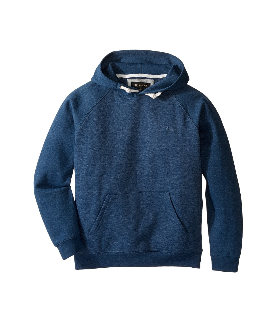 Quiksilver Kids - Everyday Hood Fleece Top (Big Kids) (Dark Denim) Boy's Fleece