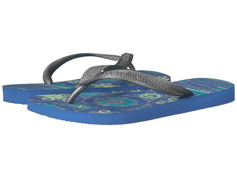Havaianas - Spring Flip Flops (Light Blue) Women's Sandals