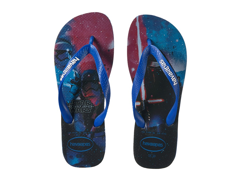 Havaianas Star Wars Flip-Flops (Blue Star/Blue Star) Women
