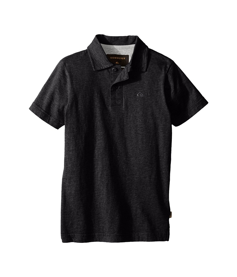 Quiksilver Kids - Dry Harbour Knit Top (Big Kids) (Dark Grey Heather) Boy's Clothing