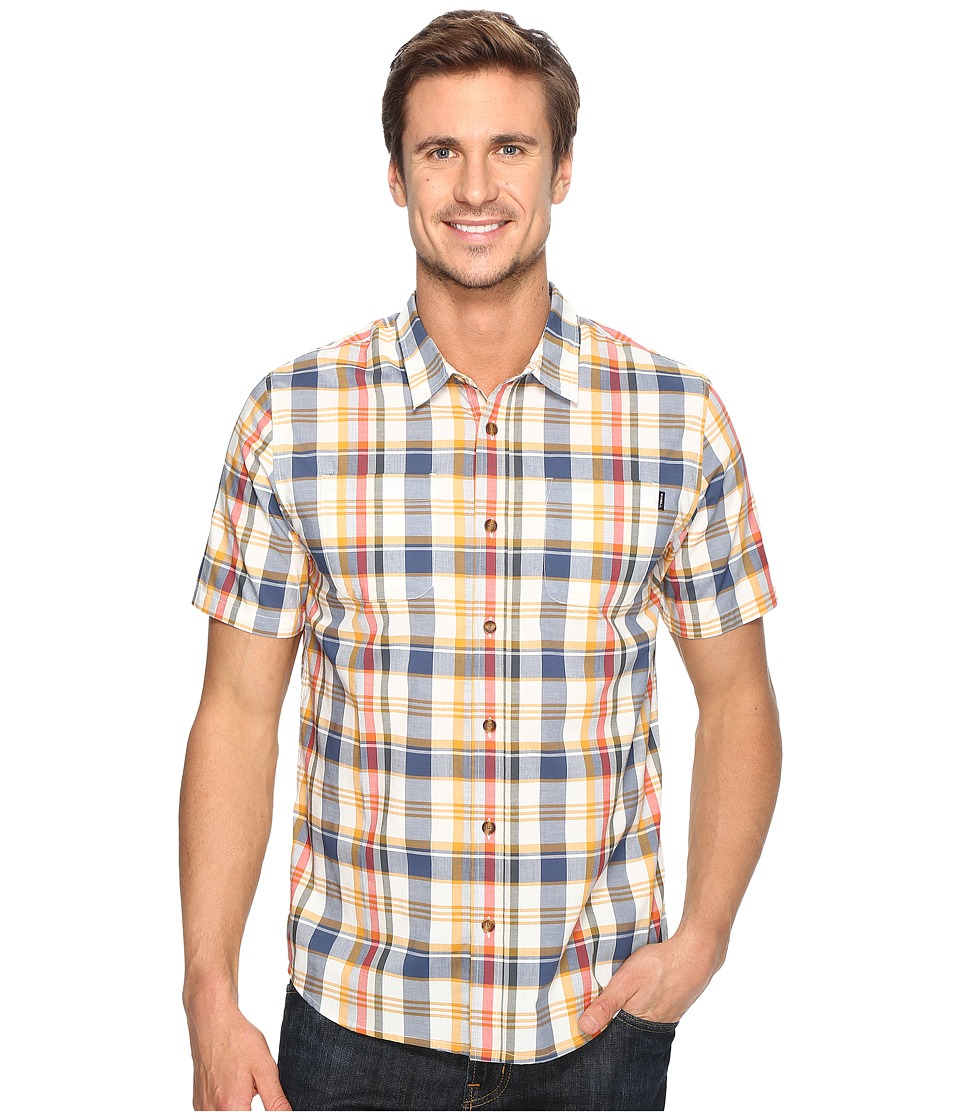 O'Neill - Prime Short Sleeve Woven (Gold) Men's Clothing