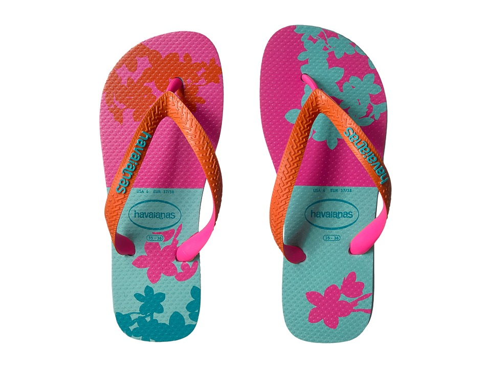 Havaianas Top Fashion Flip-Flops (Ice Blue) Women