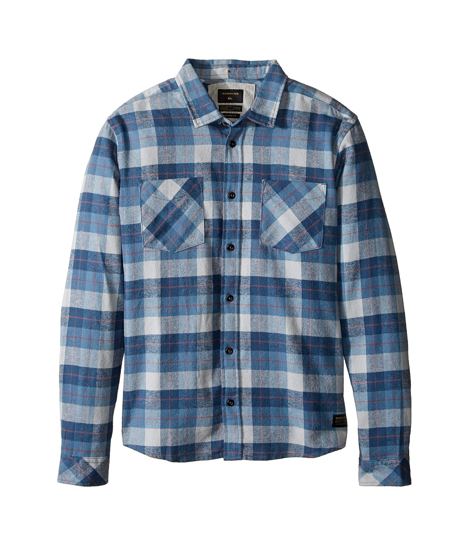 Quiksilver Kids - Major Reform Woven Top (Big Kids) (Captain Blue Major Reform) Boy's Clothing