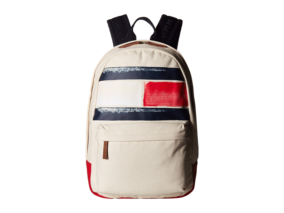 Tommy Hilfiger - Simon Backpack (Natural) Backpack Bags