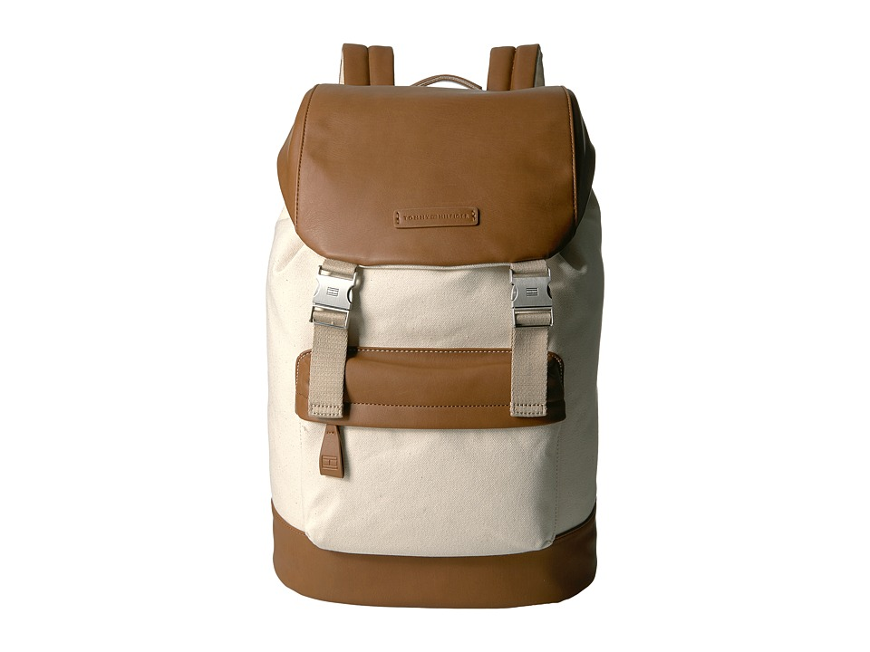 Tommy Hilfiger Charles Backpack (Natural) Backpack Bags