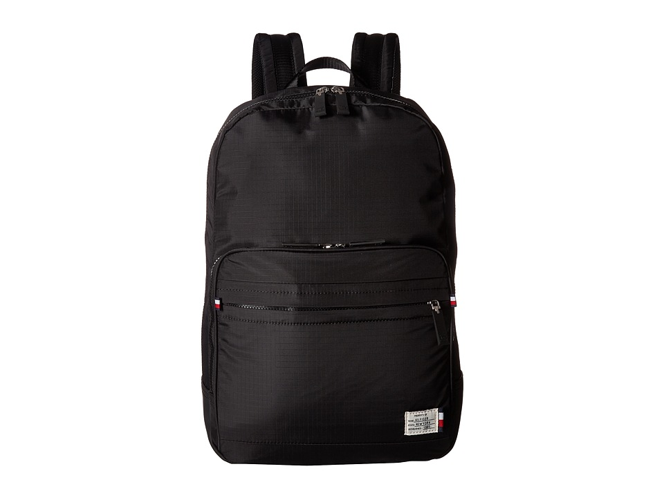 Tommy Hilfiger Thomas Dome Backpack (Black) Backpack Bags